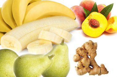 Смути с банан, праскова и круша