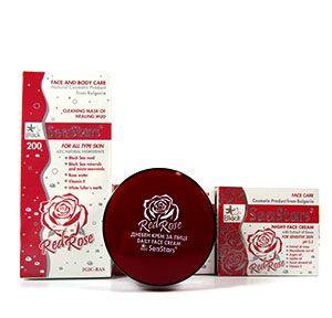 Red Rose серия за лице и тяло