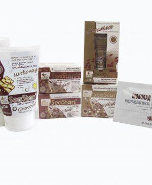 Шоколадова серия за лице с хиалуронова киселина